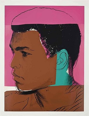 Andy Warhol, Muhammad Ali 1978, Screenprint on Strathmore Bristole Paper, (F&S. II. 179)
