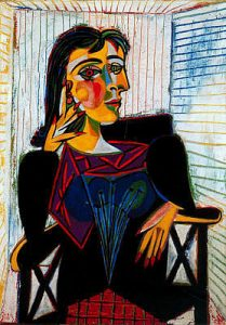 Picasso Portrait of Dora Maar, 1937
