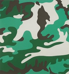 Andy Warhol, Camouflage, 1987 Screenprint on Lenox Museum Board (F&S.II.406)
