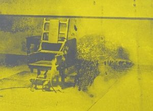 Andy Warhol, Electric Chairs, 1971, Screenprint on Paper (F&S.II.74)
