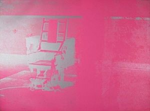 Andy Warhol, Electric Chairs, 1971, Screenprint on Paper (F&S.II.75)