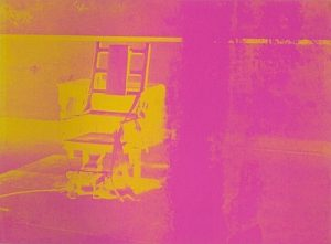 Andy Warhol, Electric Chairs, 1971, Screenprint on Paper (F&S.II.82)