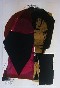 Andy Warhol, Mick Jagger, Screenprint on Arches Aquarelle Paper (F&S. II. 139)