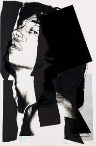 Andy Warhol, Mick Jagger, Screenprint on Arches Aquarelle Paper (F&S. II. 144)