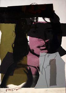 Andy Warhol, Mick Jagger, Screenprint on Arches Aquarelle Paper (F&S. II. 145)