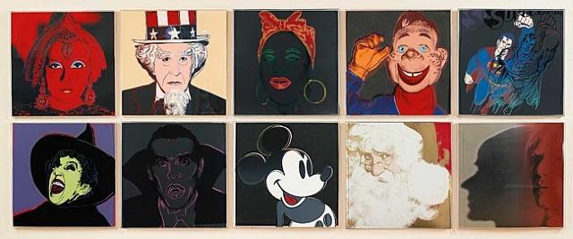 Andy Warhol Myths Series, 1981
