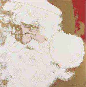 Andy Warhol, Santa Claus, Screenprint on Lenox Museum Board (F&S.II.266)