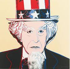 Andy Warhol, Uncle Sam, Screenprint on Lenox Museum Board (F&S.II.259)