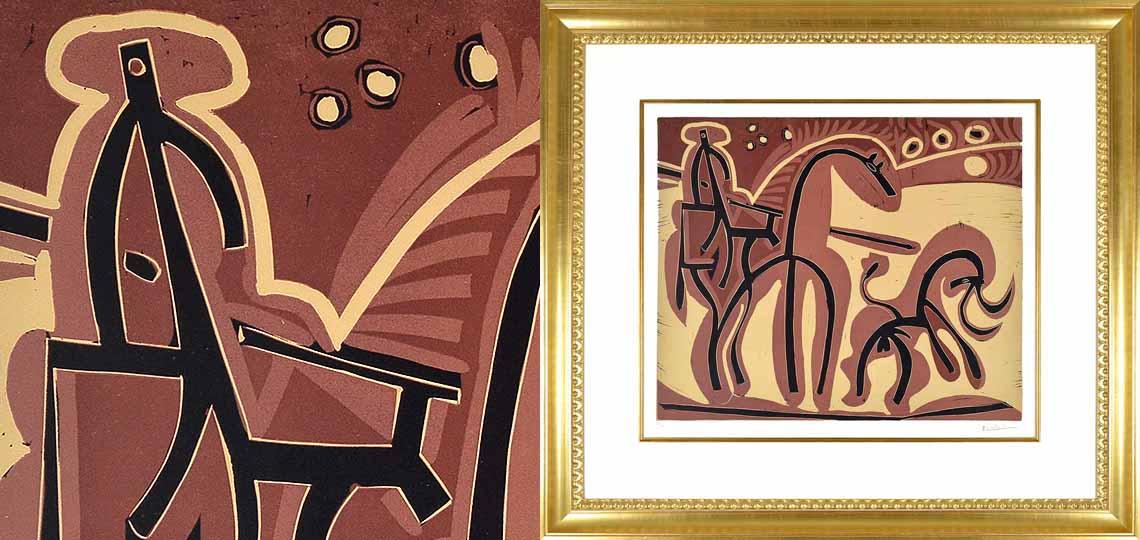 Pablo Picasso, Picador et Taureau (Picador and Bull), 1959