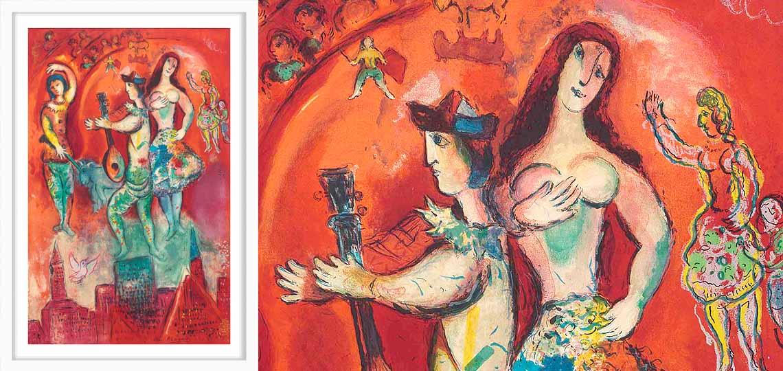 Marc Chagall, Carmen, 1966