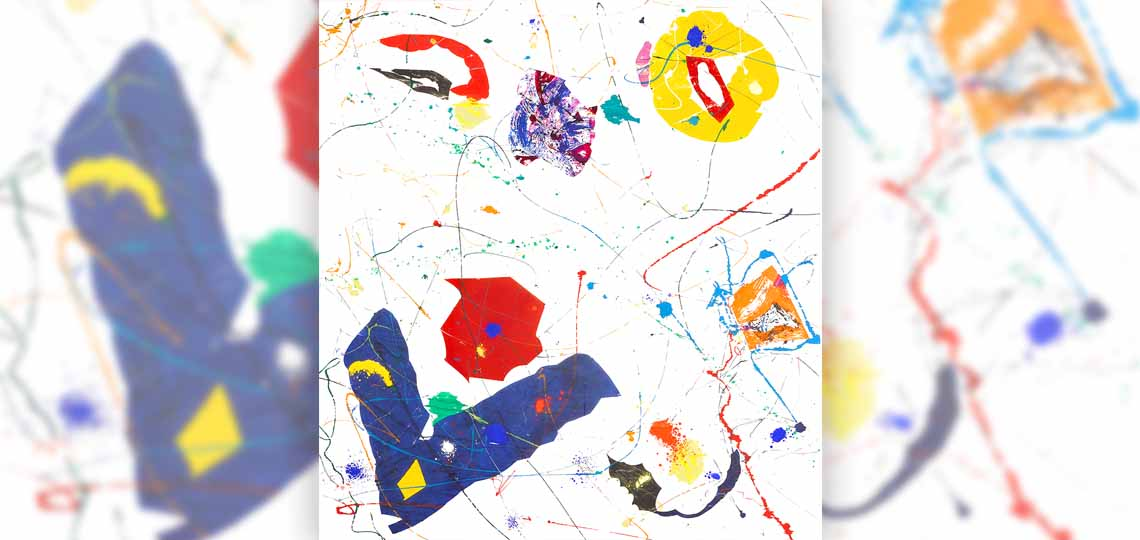 Sam Francis, Untitled, 1984-85