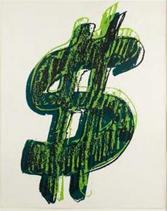 Andy Warhol $ (1) 1982 FS II.280