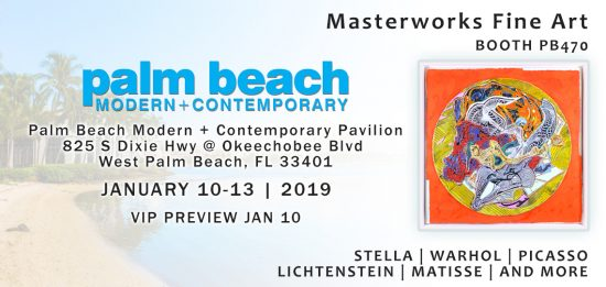 Pealm Beach Modern Contemporary Banner
