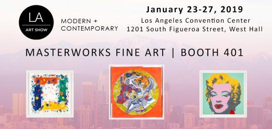 LA Art Show banner 2019