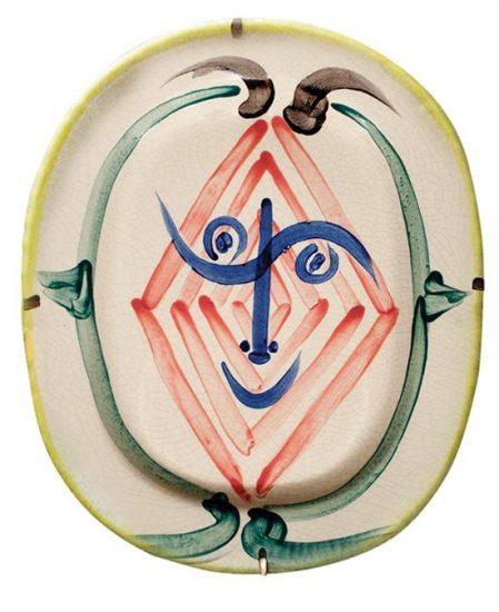 pablo picasso tete de faun fauns head 1948 for sale