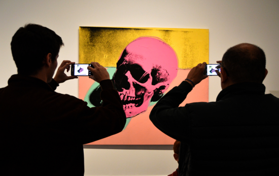 Andy Warhol Retrospective Exhibition From A to B and Back Again at The Whitney New York and SF MOMA