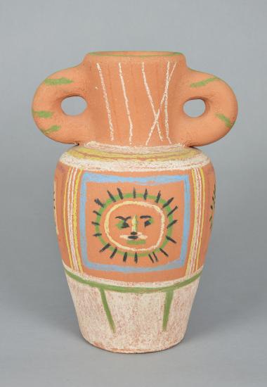 Picasso ceramic vase
