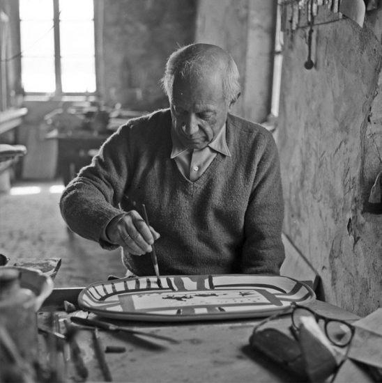 Picasso ceramic plate