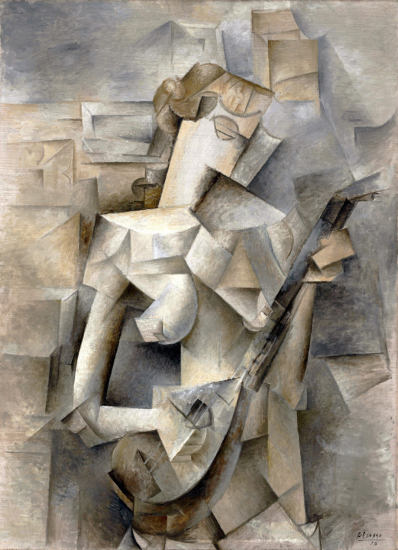 picasso girl with a mandolin