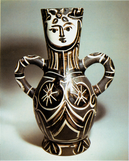 Vase with Two High Handles, 1953