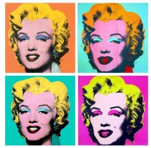 Pop Art Marilyn Monroe Makeup