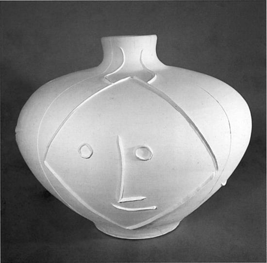 Big Candy-Striped Vase, 1956