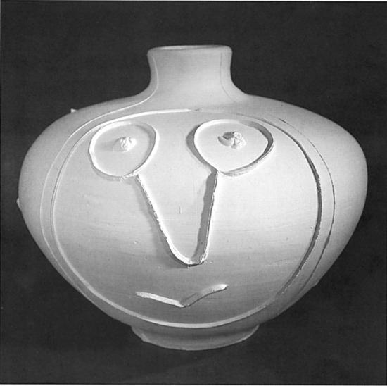 Big Plaid Vase, 1956