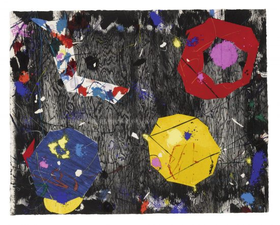 Sam Francis Monotype, Untitled, 1984