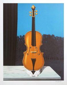 René Magritte Lithograph, A Little of the Bandit's Soul