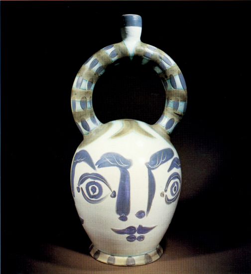 Aztec Vase with Four Faces, 1957