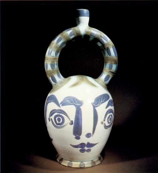 Aztec Vase with Four Faces, 1957