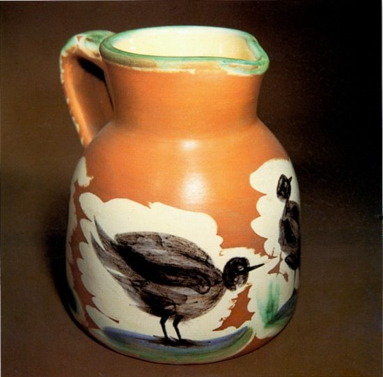 Pitcher with Birds, 1962