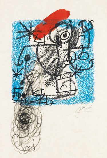 Joan Miró Lithograph, Print, Les Essències de la Terra (The Essences of the Land), 1968