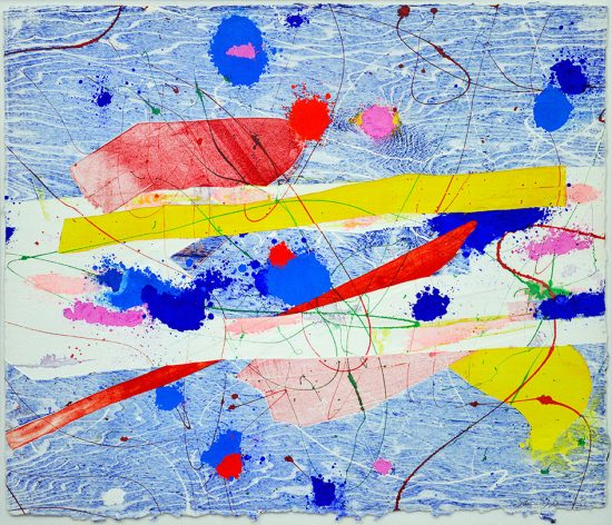 Sam Francis Monotype, Untitled, c. 1979
