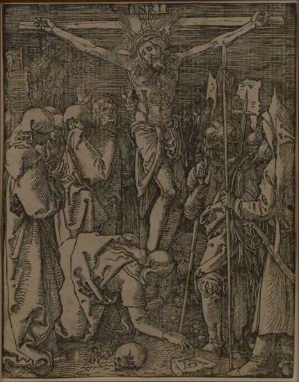 Albrecht Dürer Woodcut, Albrecht Dürer The Crucifixion (The Small Passion), 1509