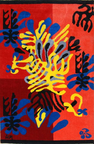 Henri Matisse Tapestry, Mimosa, 1951