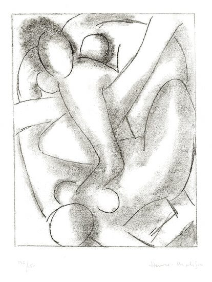 Henri Matisse Etching, Calypso from Ulysses, 1935