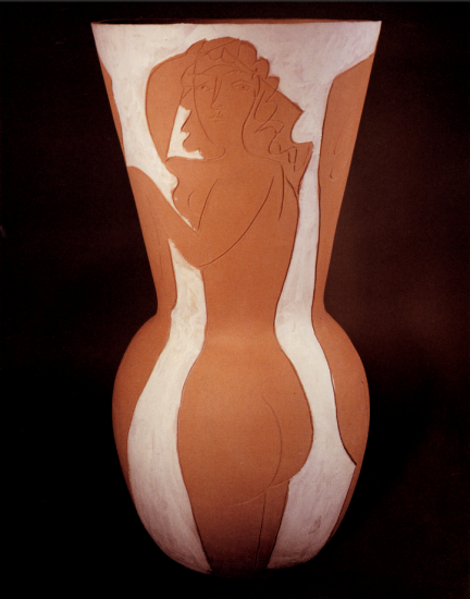 Large Vase with Dancers, 1950