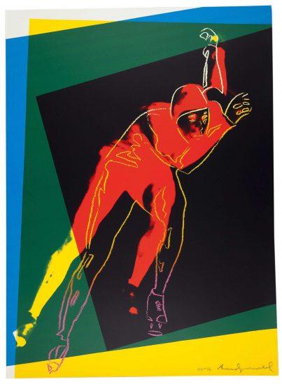 Speed Skater 1983