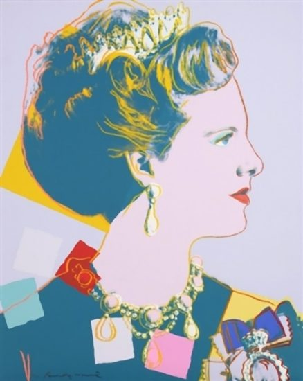 Queen Margrethe II of Denmark 1985