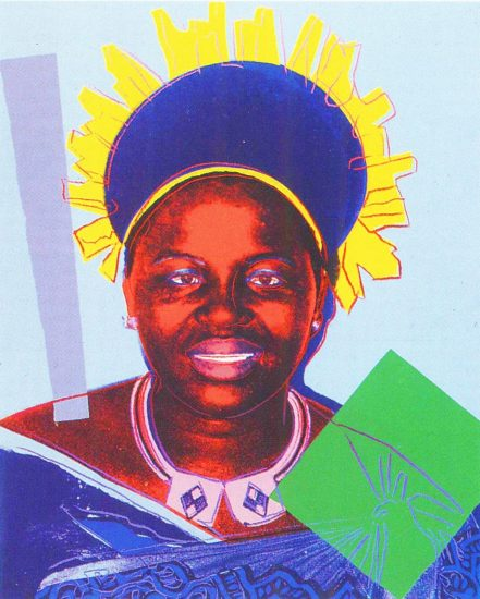 Queen Ntombi Twala of Swaziland 1985