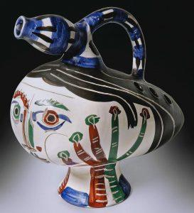 Pablo Picasso Ceramic, Canard pique-fleurs (Duck flower-holder), 1951