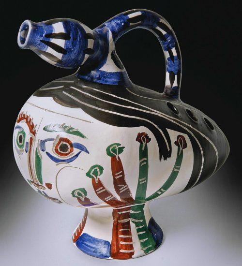 Pablo Picasso Ceramic, Canard pique-fleurs (Duck flower-holder), 1951 A.R. 117