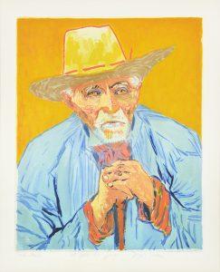 Vincent van Gogh Aquatint, Jacques Villon Le Paysan (The Peasant), 1927, After Van Gogh