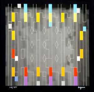 Yaacov Agam, Untitled, c. 1990