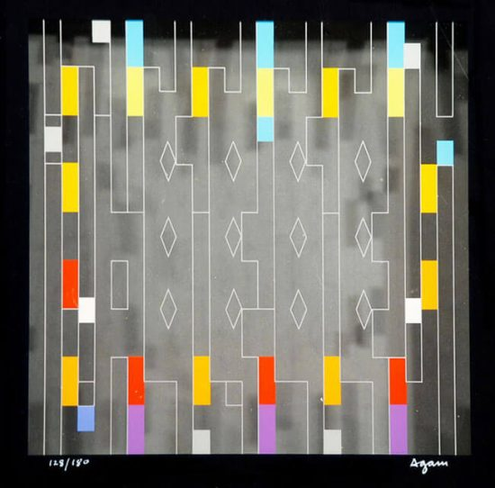 Yaacov Agam Multiple, Untitled, c. 1990
