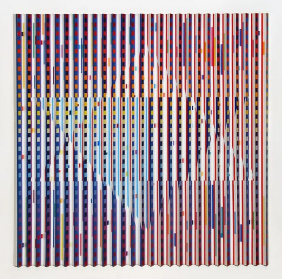 Yaacov Agam Polymorph, Star of David, 1983