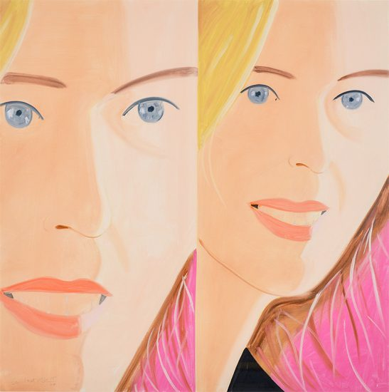 Alex Katz Digital, Sasha 2, 2016