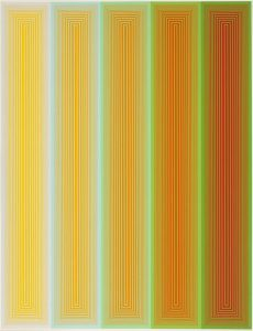 Richard Anuszkiewicz Screen Print, Inward Eye Suite, 1970 (Complete Set of 10 Works)