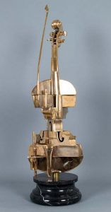 Arman Sculpture, Violon Spirale, 2001-2002